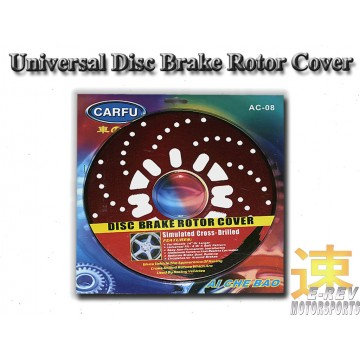 Disc Rotor Cover (Red)