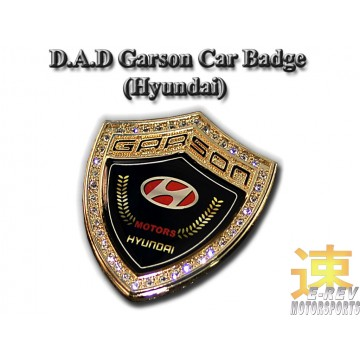 DAD Hyundai Badge