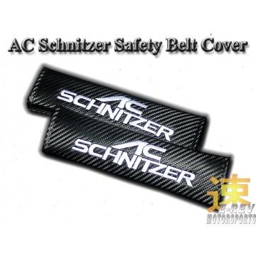 AC Schnitzel Carbon Fibre Look Seat Belt Cushion