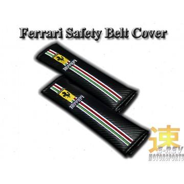 Ferrari Carbon Fibre Look Seat Belt Cushion