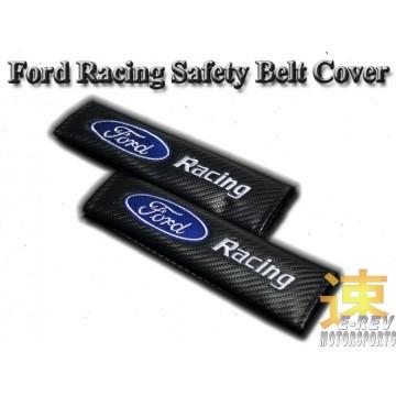 Ford Racing Carbon Fibre Look Seat Belt Cushion