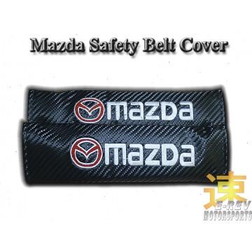 Mazda Carbon Fibre Look Seat Belt Cushion