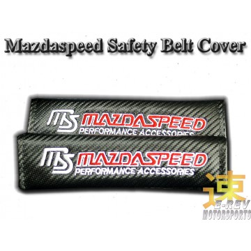 Mazda Speed Carbon Fibre Look Seat Belt Cushion