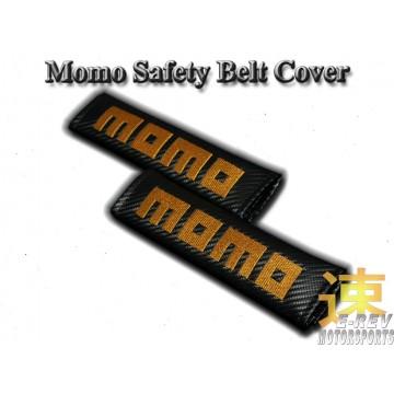 Momo Carbon Fibre Look Seat Belt Cushion