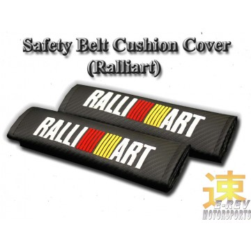 Ralliart Carbon Fibre Look Seat Belt Cushion