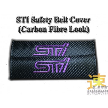 STI Carbon Fibre Look Seat Belt Cushion