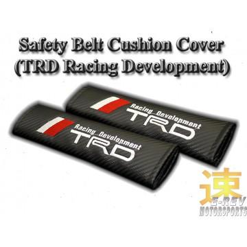 TRD Carbon Fibre Look Seat Belt Cushion