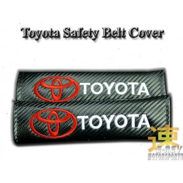 Toyota Carbon Fibre Look Seat Belt Cushion