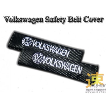 Volkswagen Carbon Fibre Look Seat Belt Cushion