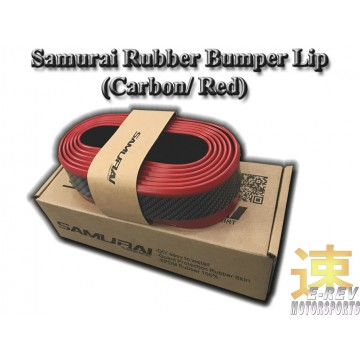 Rubber Lip (Carbon with Red Lining)