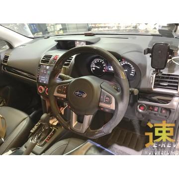 Subaru Forester XT Carbon Fibre Steering Wheel