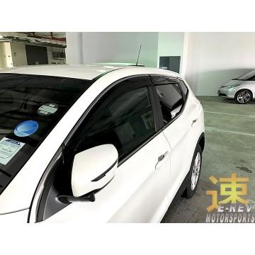 Nissan Qashqai Window Visor