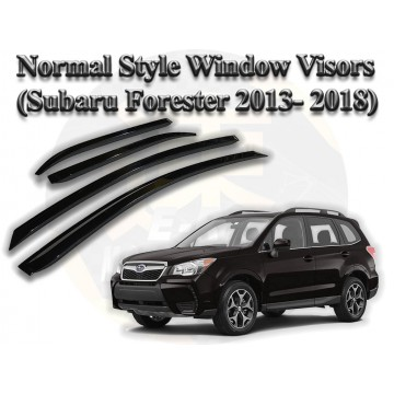 Subaru Forester SJ (2012- 2018) Normal Style Window Visor