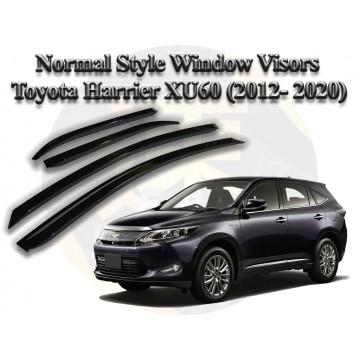 Toyota Harrier Normal Style Window Visor