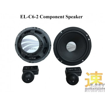 Rainbow Component Speakers (EL-C6.2)