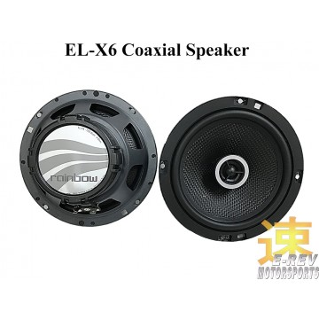 Rainbow Coaxial Speakers (EL-X6)