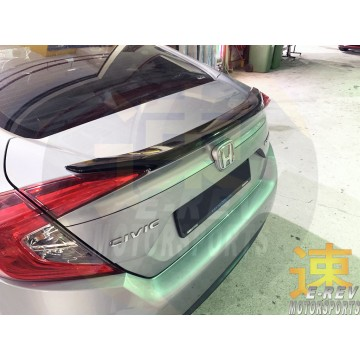 Honda Civic FC Rear Boot Spoiler