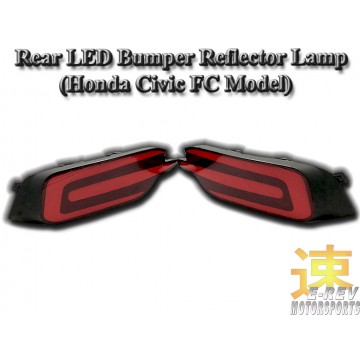 Honda Civic FC Rear Bumper Reflector Light