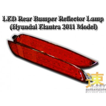 Hyundai Elantra LED Rear Bumper Reflector Light