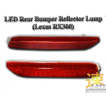 Lexus RX300 Rear Bumper Reflector Light
