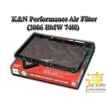 K&N Air Filter - BMW 740i