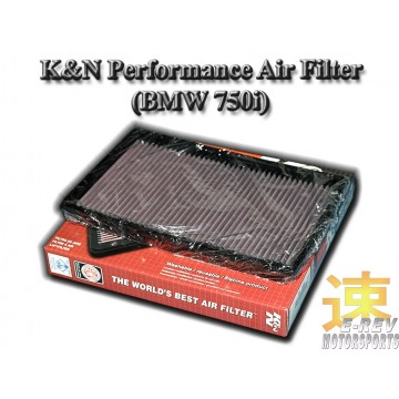 K&N Air Filter - BMW 750i