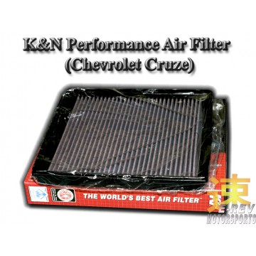 K&N Air Filter - Chevrolet Cruze