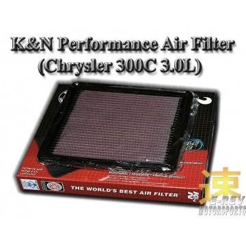 K&N Air Filter - Chrysler 300C