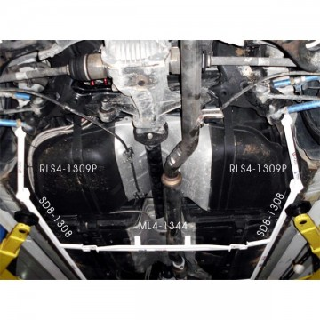 Hyundai Rohen Coupe Rear Lower Side Arm Bar