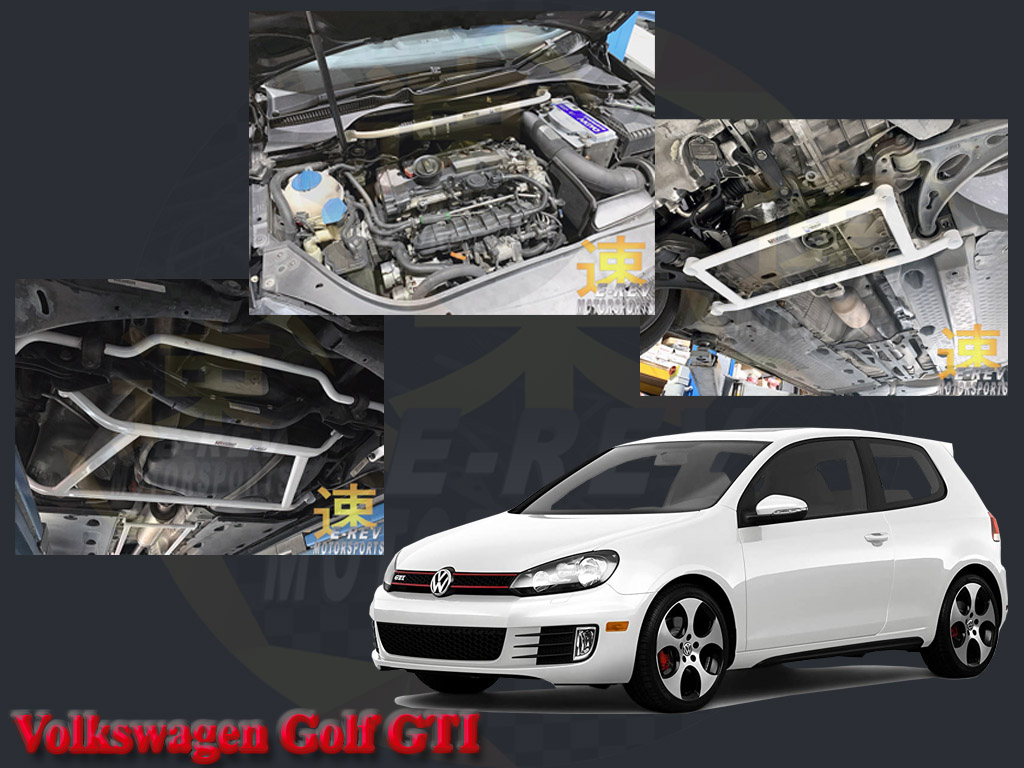 Volkswagen Golf GTI Safety Bars Installation