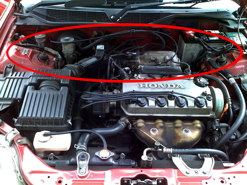 1988 Honda Civic Engine Bay Diagram